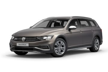 Passat Alltrack gold sea shell