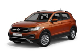 T-Cross Life orange energetic