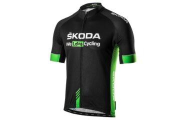 čierny cyklodres ŠKODA